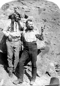 John Wesley Powell and Indian guide